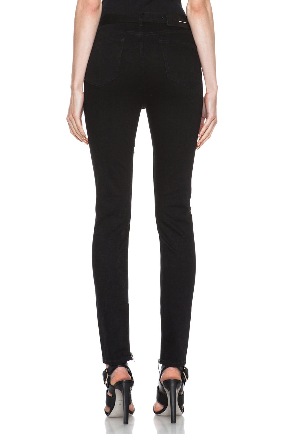 Image 4 of BLK DNM High Waisted 5 Pocket Legging in Monroe Black