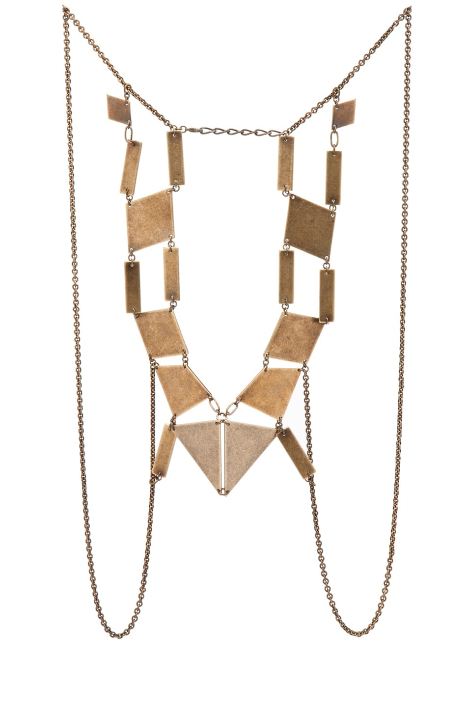Image 1 of Bliss Lau Kinetic Body Chain in Brass