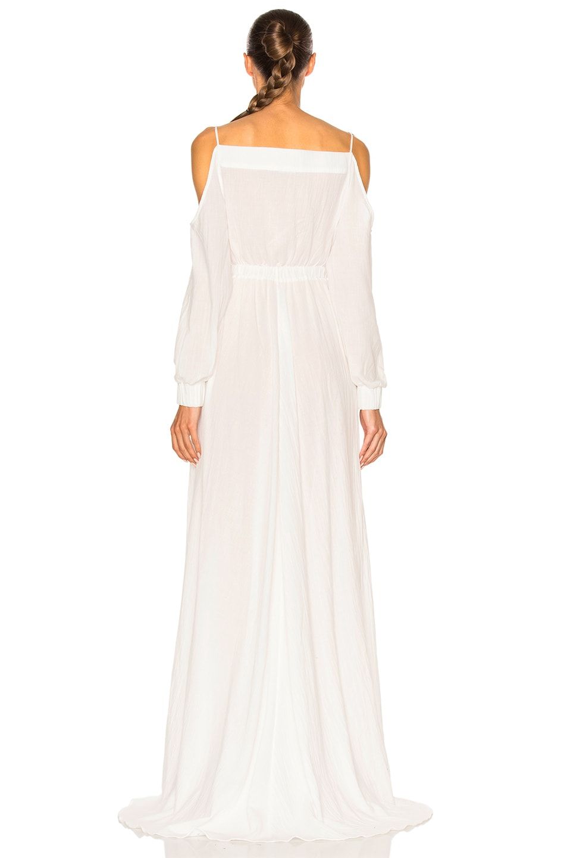 Image 4 of BALMAIN Maxi Dress in White