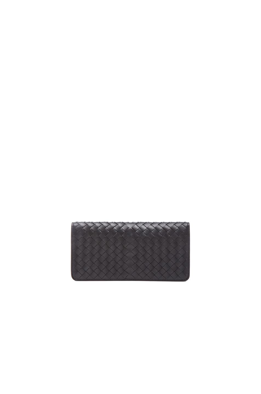 Image 2 of Bottega Veneta Flat Wallet in Black