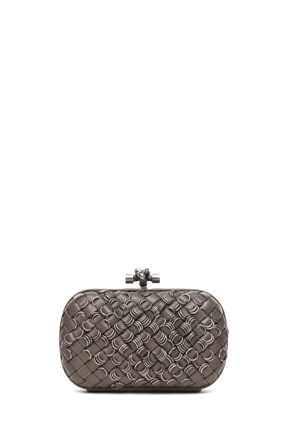 Image 2 of Bottega Veneta Mini Clutch in Shadow