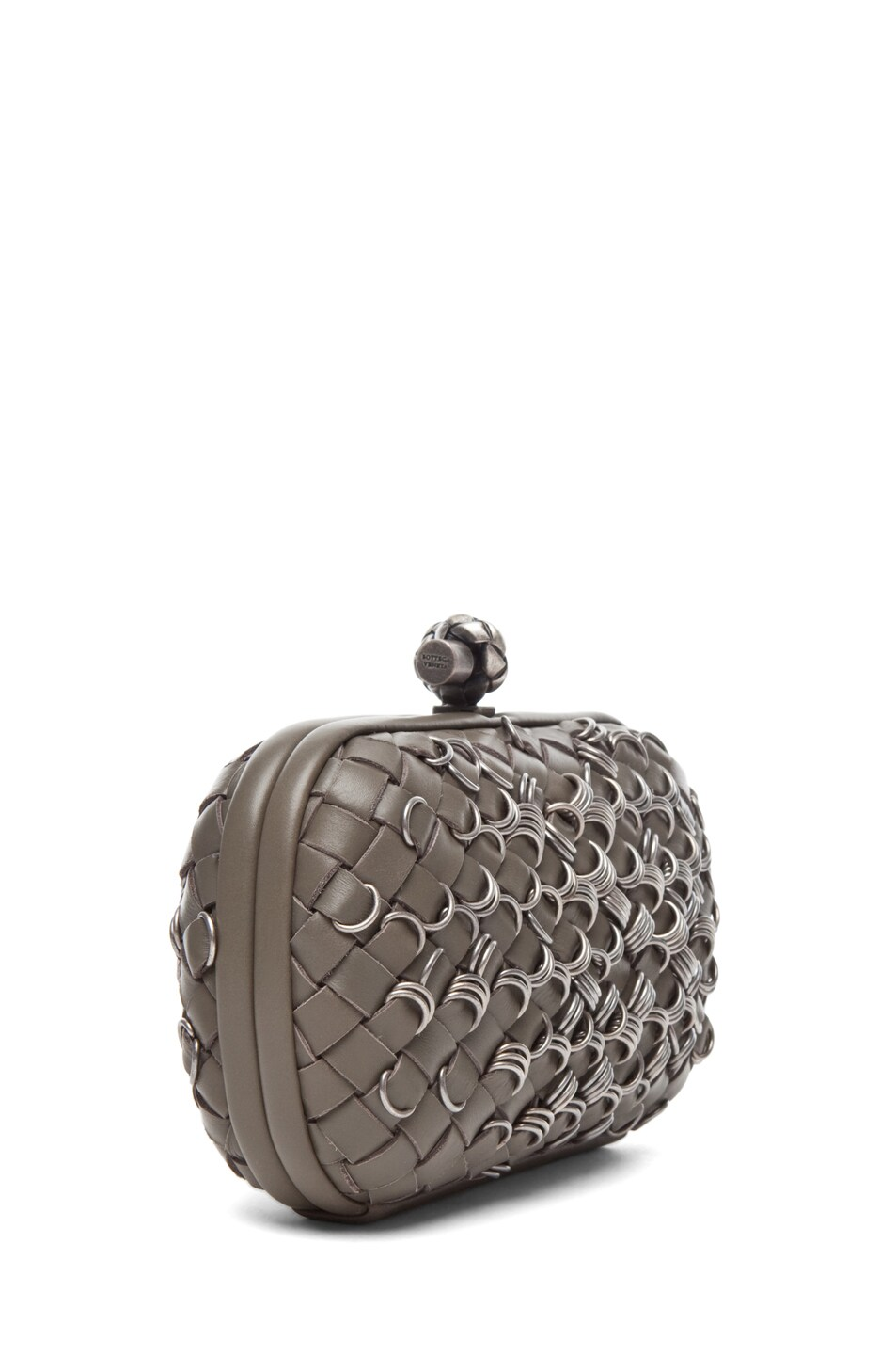 Image 3 of Bottega Veneta Mini Clutch in Shadow