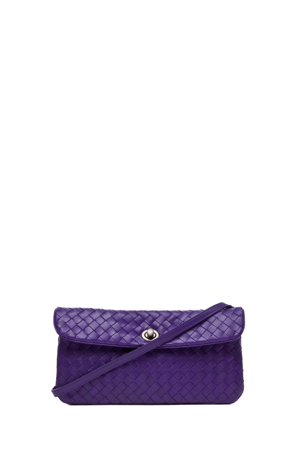 Image 1 of Bottega Veneta Crossbody Bag in Violet