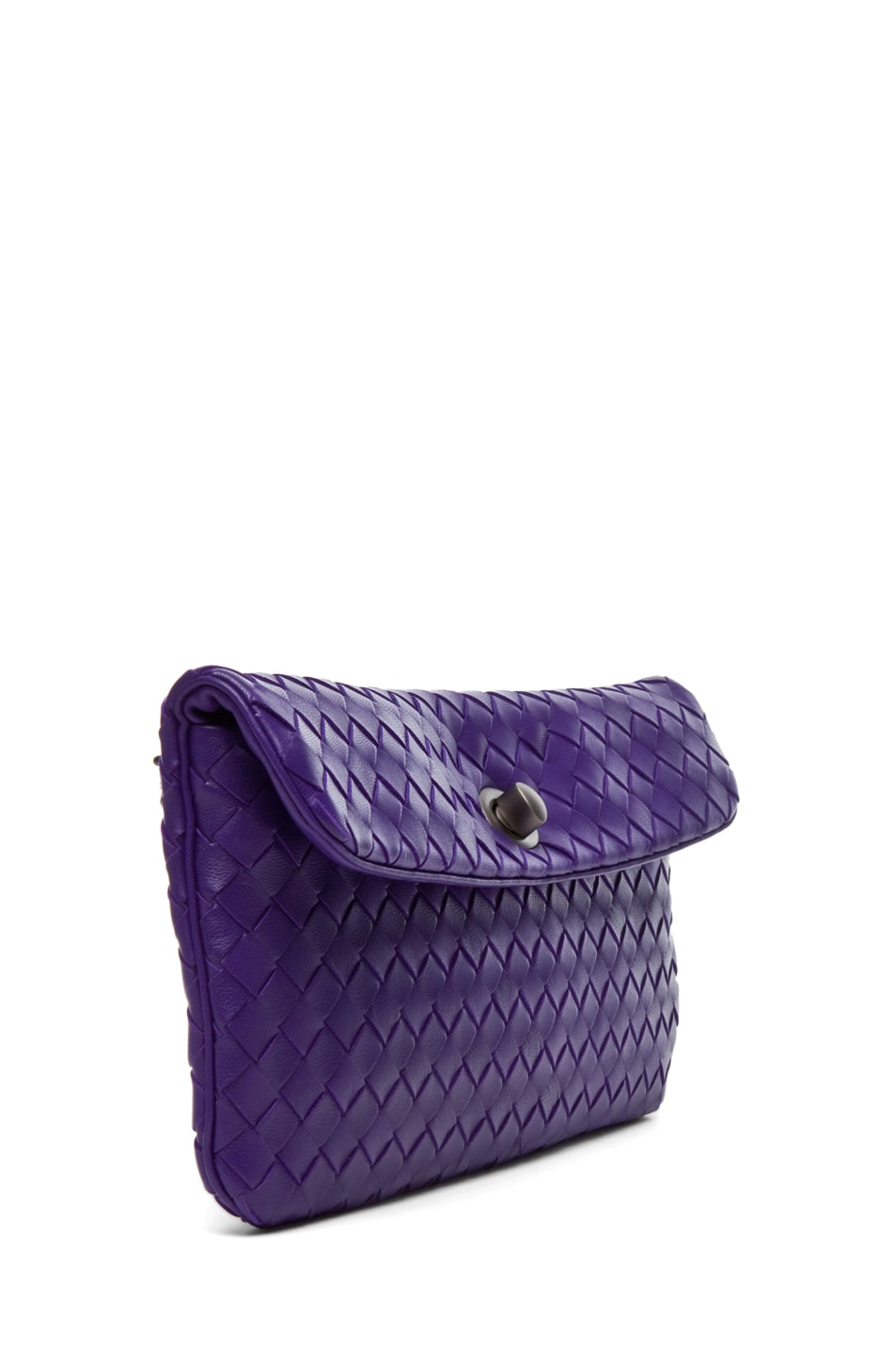 Image 3 of Bottega Veneta Crossbody Bag in Violet