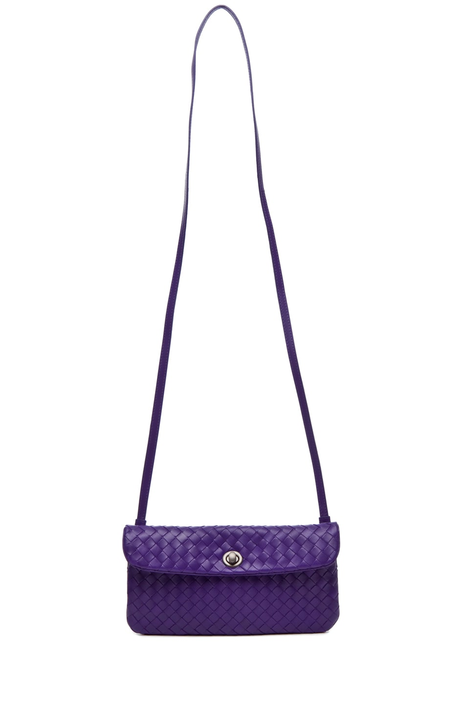 Image 5 of Bottega Veneta Crossbody Bag in Violet