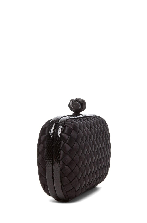 Image 3 of Bottega Veneta Ayers Knot Clutch in Black