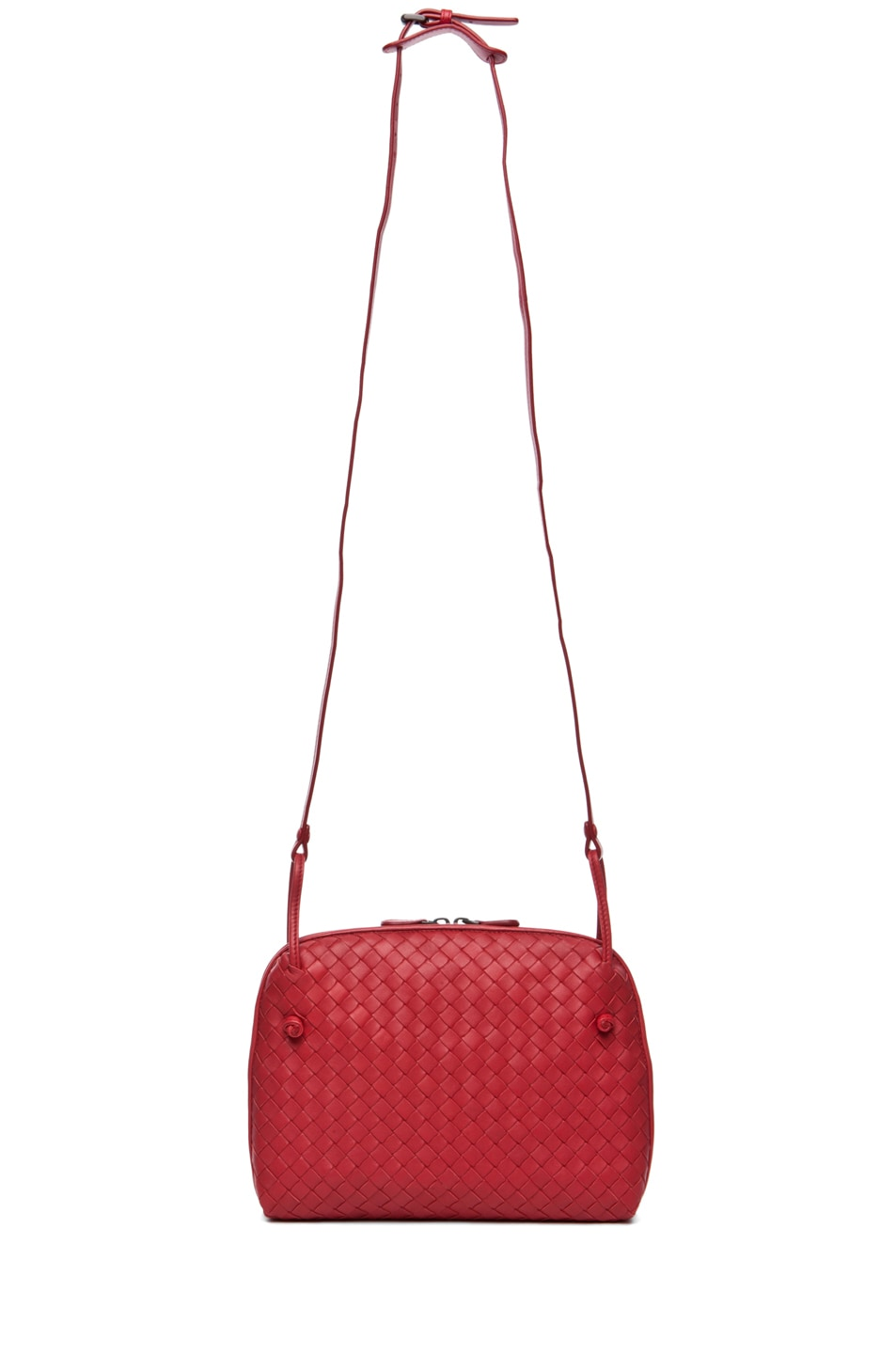 Image 5 of Bottega Veneta Small Messenger Bag in Blood