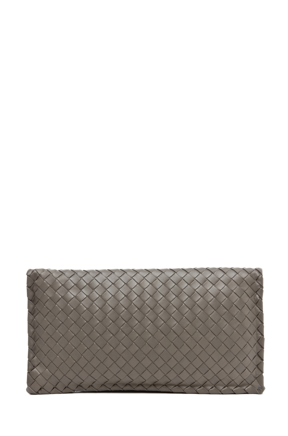 Image 2 of Bottega Veneta Small Clutch in Grey