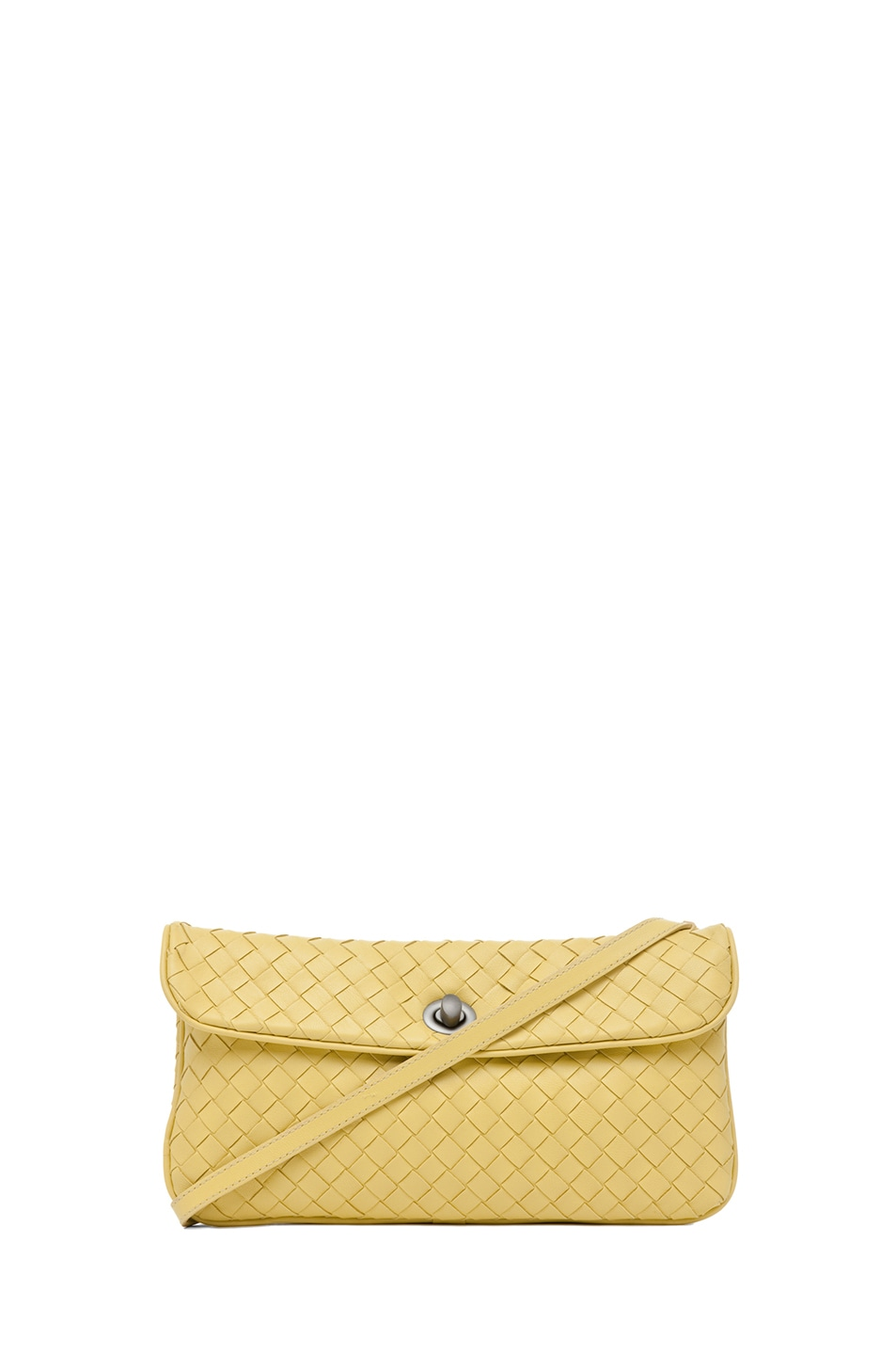 Image 1 of Bottega Veneta Crossbody Bag in Citrus Yellow
