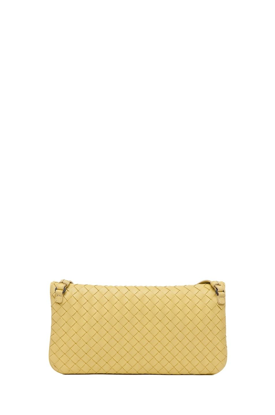 Image 2 of Bottega Veneta Crossbody Bag in Citrus Yellow