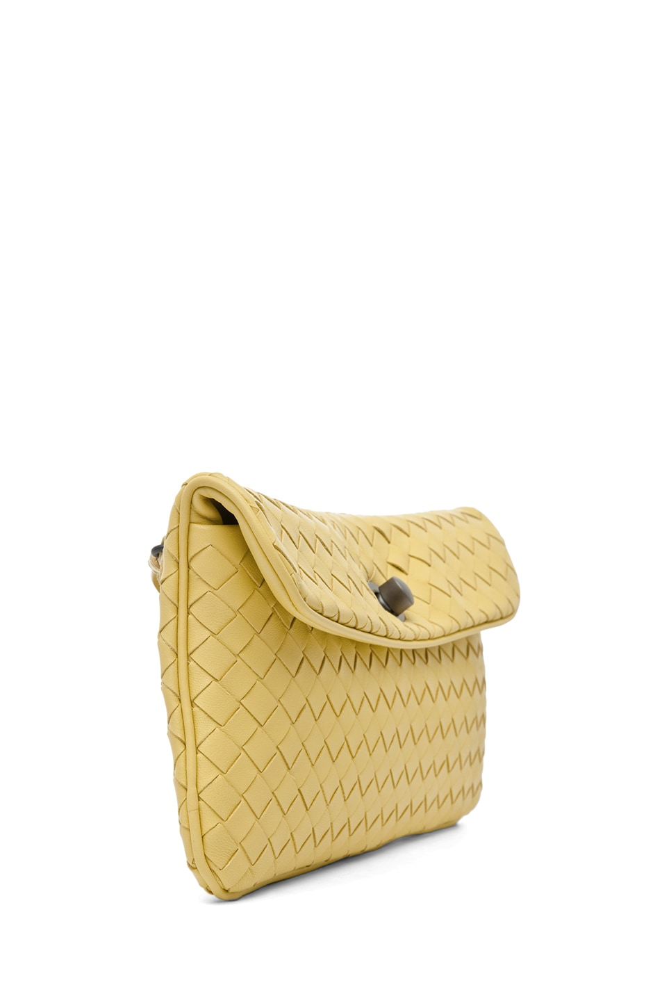 Image 3 of Bottega Veneta Crossbody Bag in Citrus Yellow