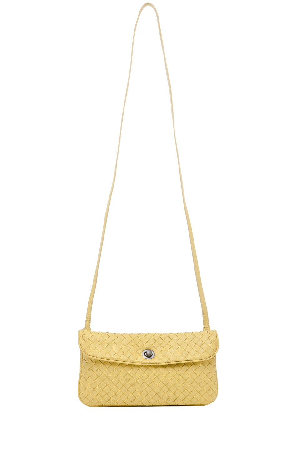 Image 5 of Bottega Veneta Crossbody Bag in Citrus Yellow