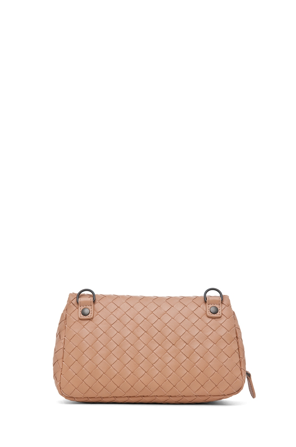 Image 2 of Bottega Veneta Chain Strap Messenger Bag in Nude