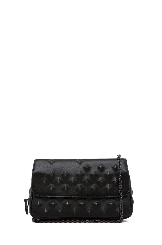 Image 1 of Bottega Veneta Nappa Stud Messenger Bag in Black