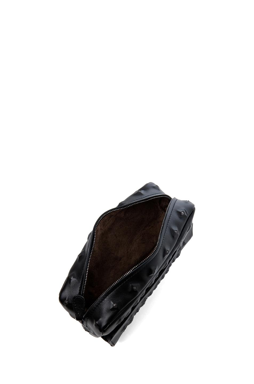 Image 4 of Bottega Veneta Nappa Stud Messenger Bag in Black