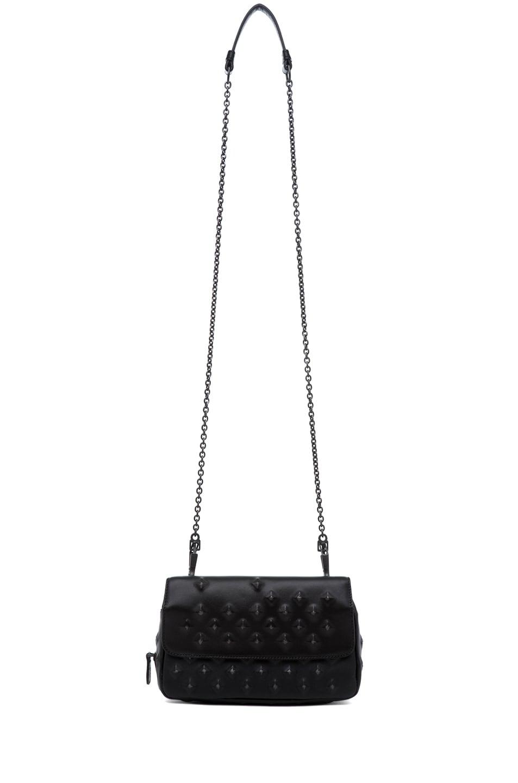 Image 6 of Bottega Veneta Nappa Stud Messenger Bag in Black