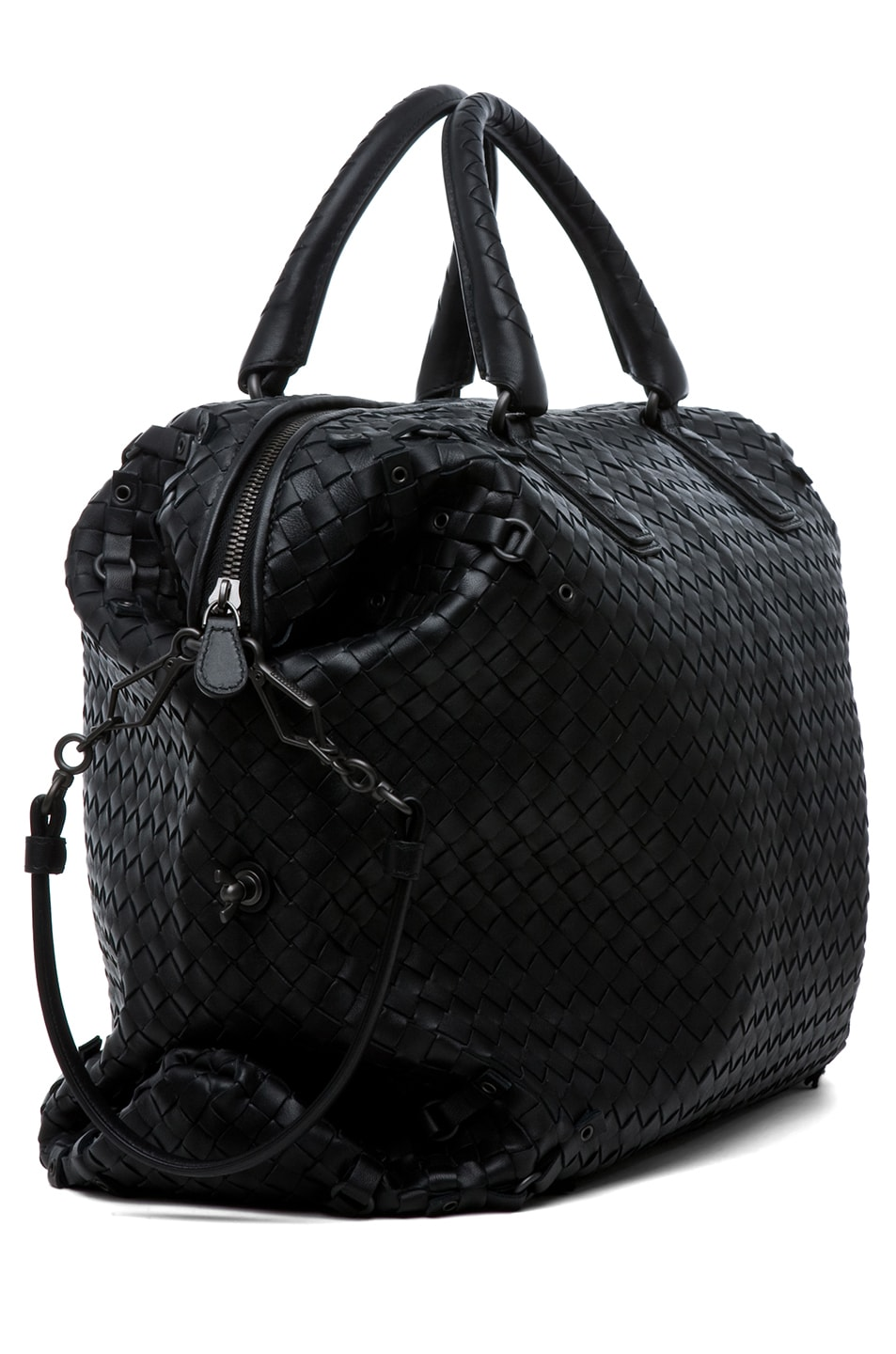 Image 3 of Bottega Veneta Maxi Tote in Nero