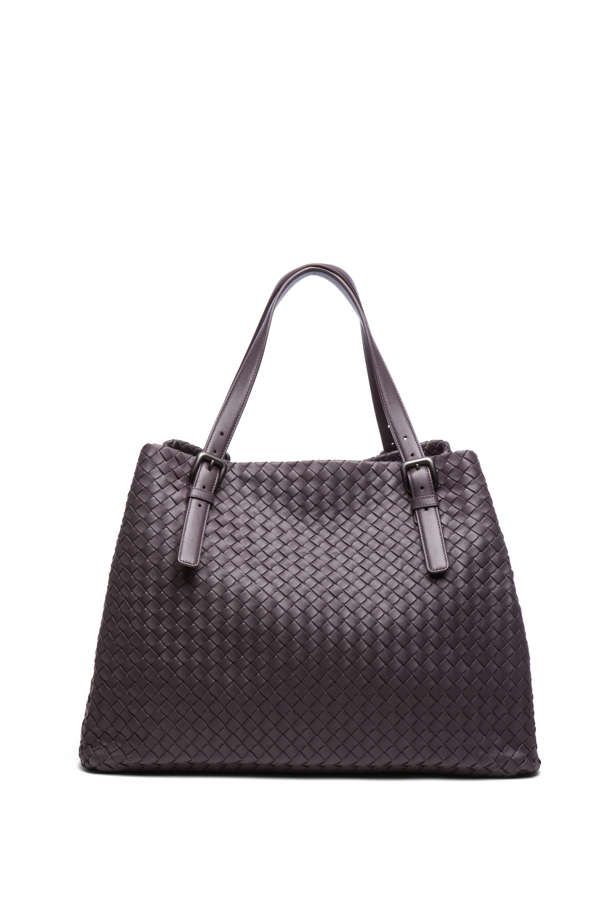 Image 2 of Bottega Veneta Large Tote Bag in Purple