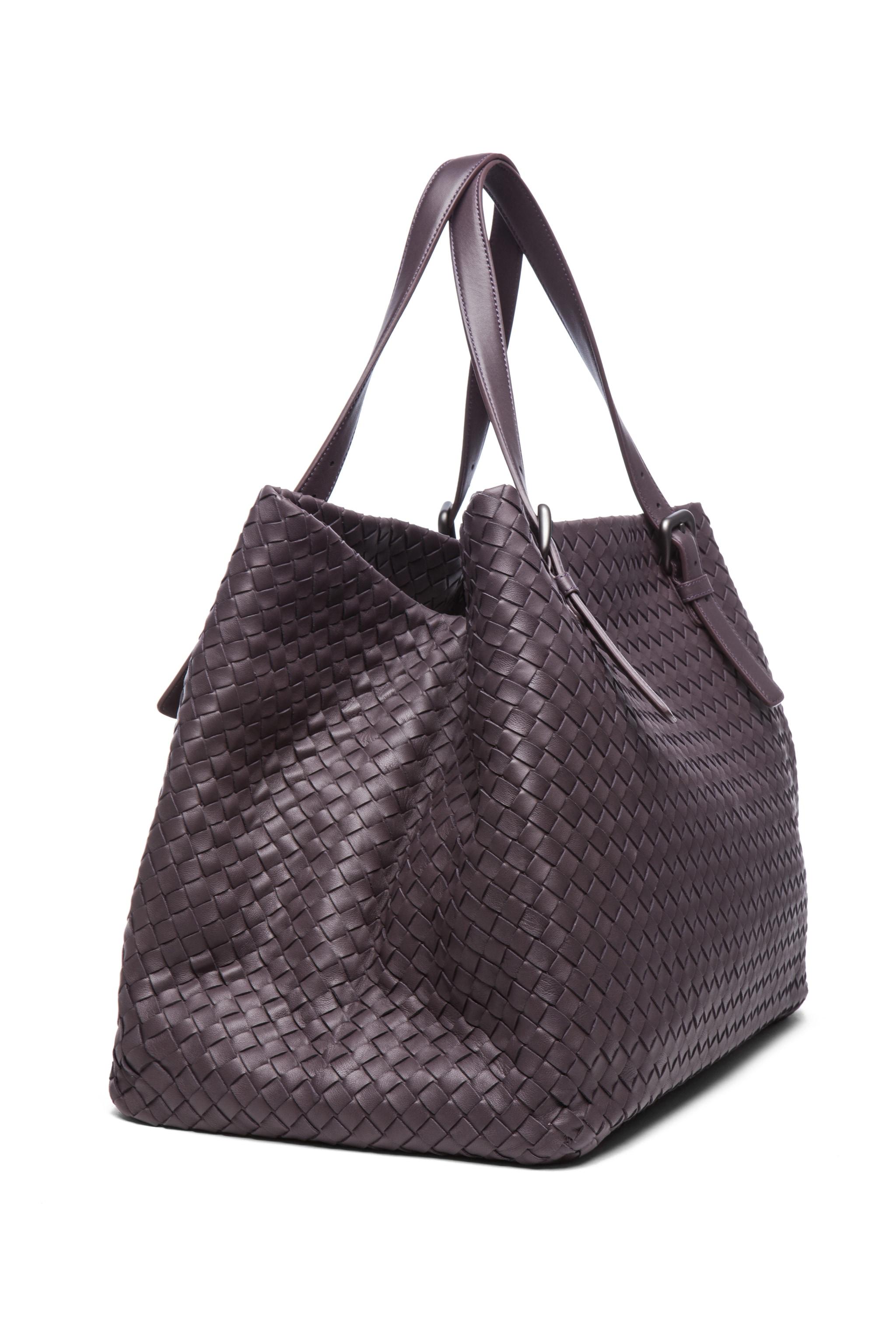 Image 3 of Bottega Veneta Large Tote Bag in Purple