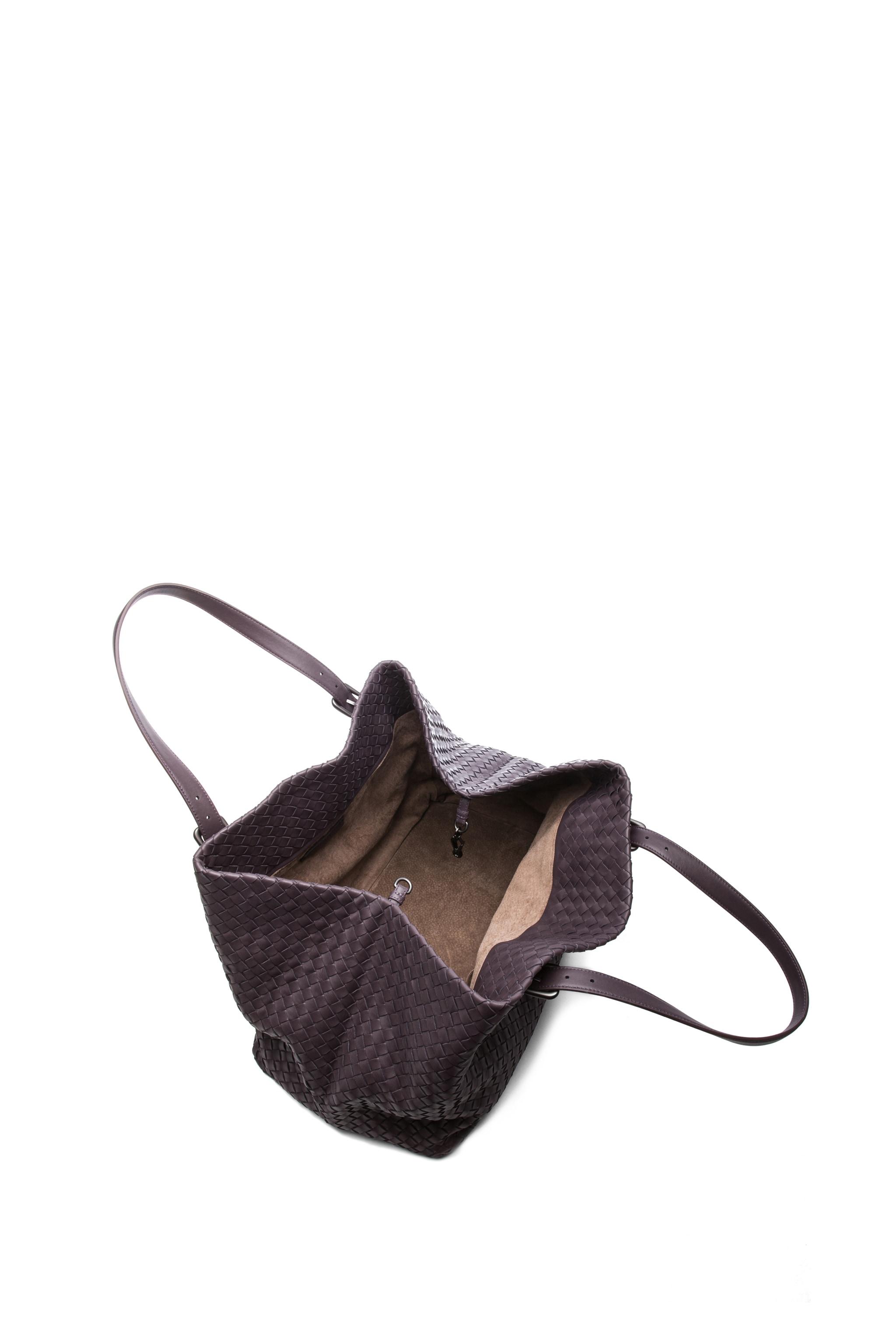Image 4 of Bottega Veneta Large Tote Bag in Purple