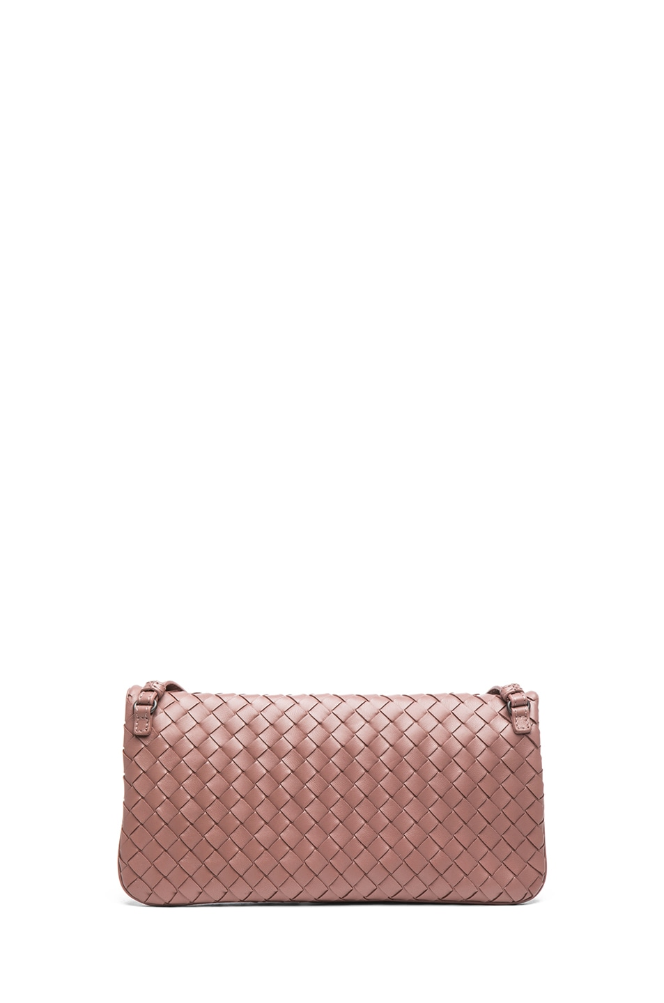 Image 2 of Bottega Veneta Mini Messenger Bag in Mauve