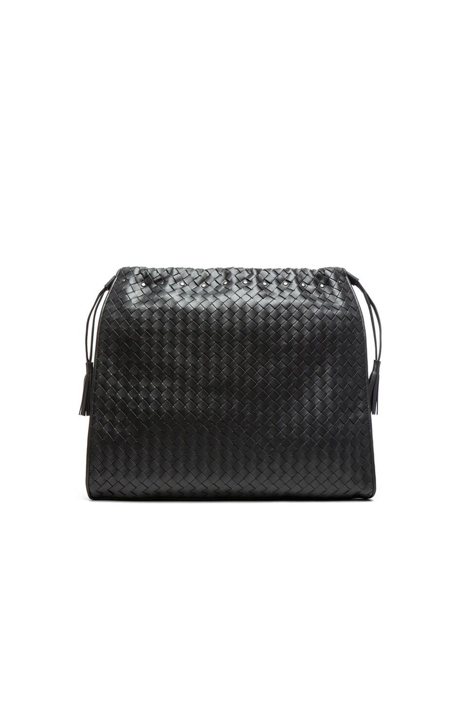 Image 2 of Bottega Veneta Large Shoulder Bag in Steel