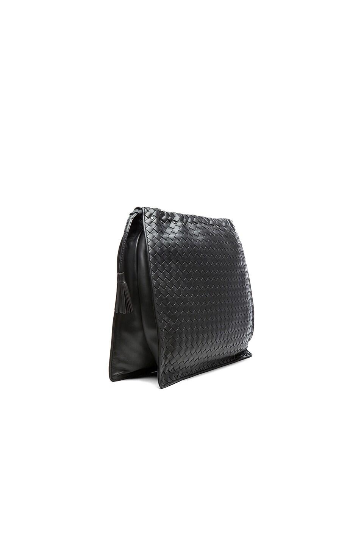Image 3 of Bottega Veneta Large Shoulder Bag in Steel