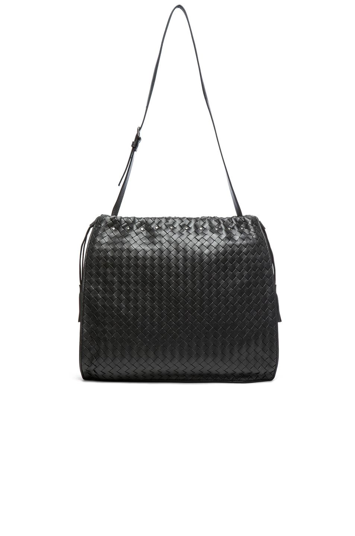 Image 5 of Bottega Veneta Large Shoulder Bag in Steel