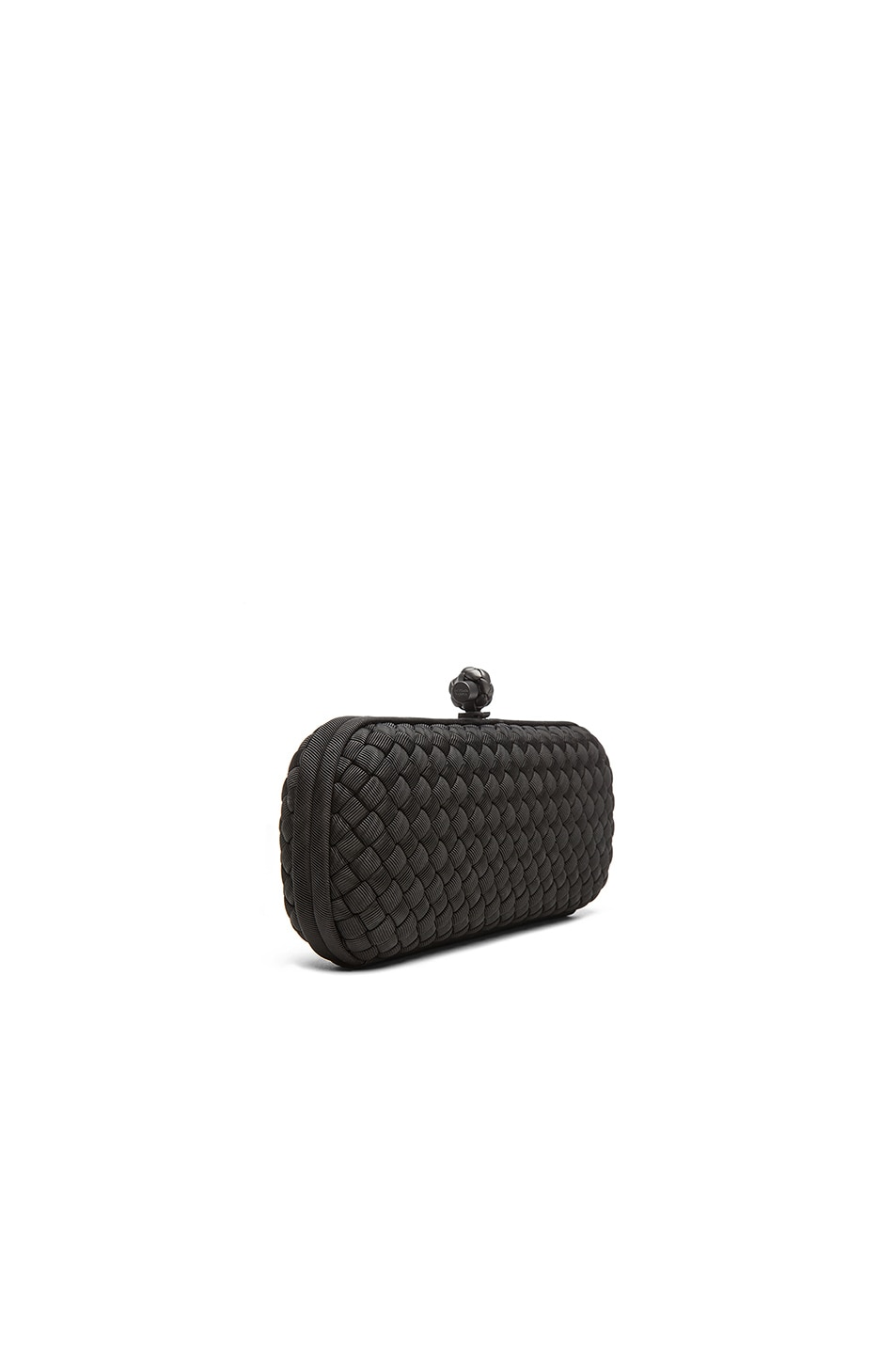 Image 4 of Bottega Veneta Long Knot Clutch in Black