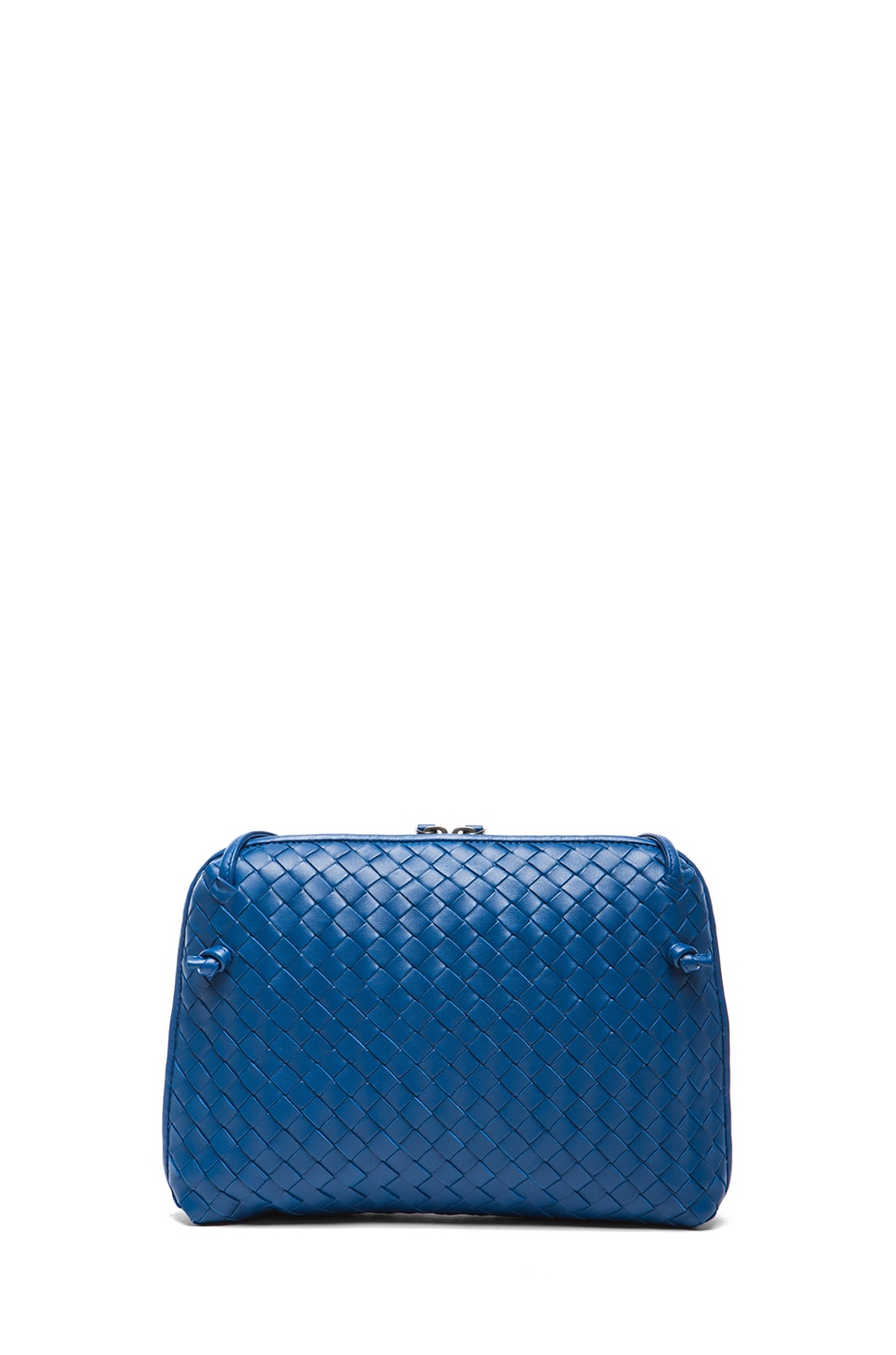 Image 2 of Bottega Veneta Intrecciato Nappa Cross Body Bag in Electrique