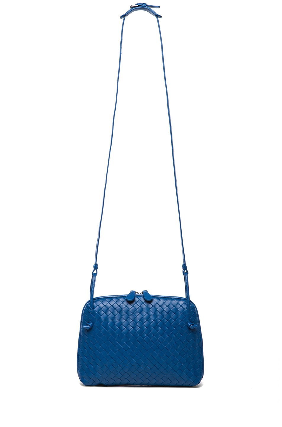 Image 5 of Bottega Veneta Intrecciato Nappa Cross Body Bag in Electrique