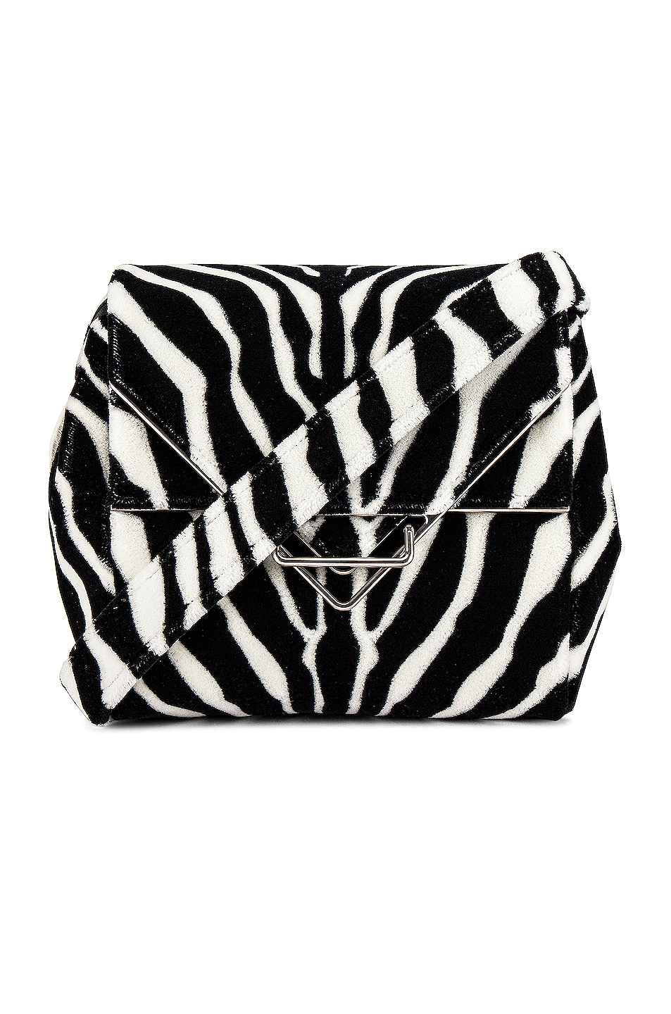 Image 1 of Bottega Veneta Ayers Livrea Knot Clutch in Electrique
