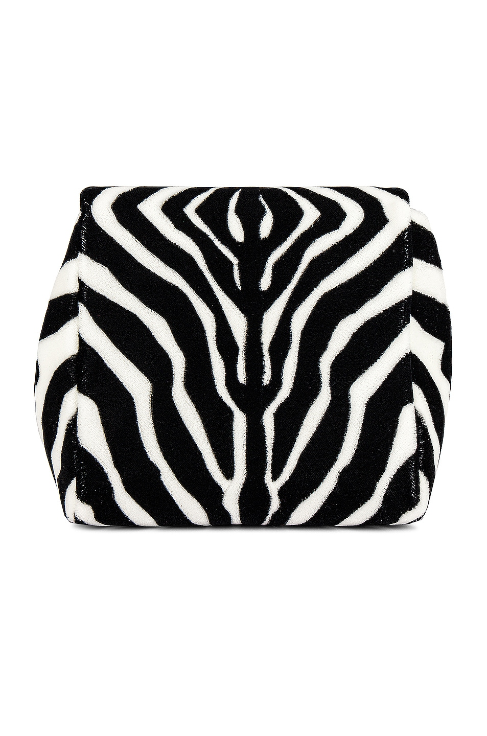 Image 2 of Bottega Veneta Ayers Livrea Knot Clutch in Electrique
