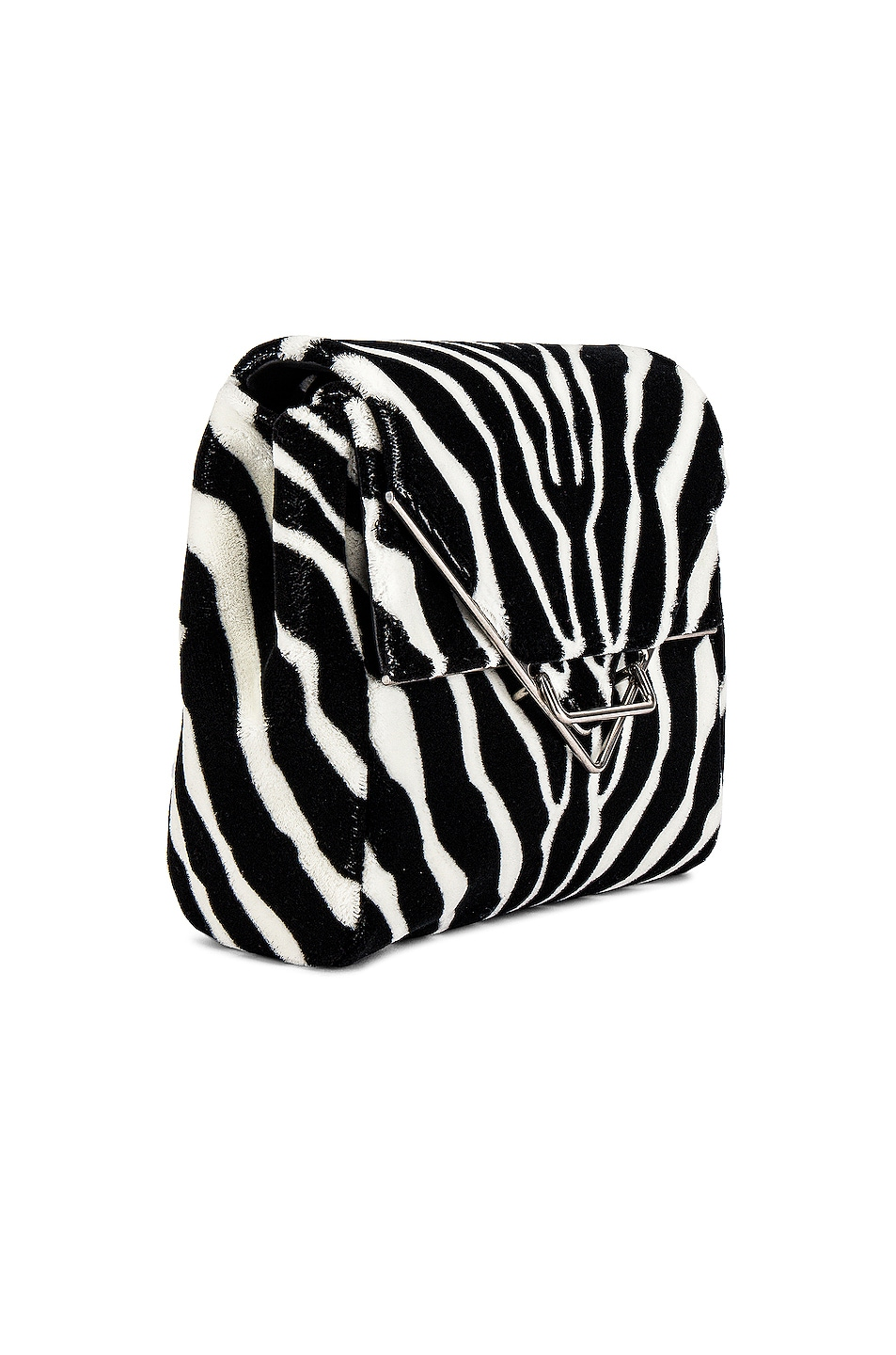 Image 3 of Bottega Veneta Ayers Livrea Knot Clutch in Electrique