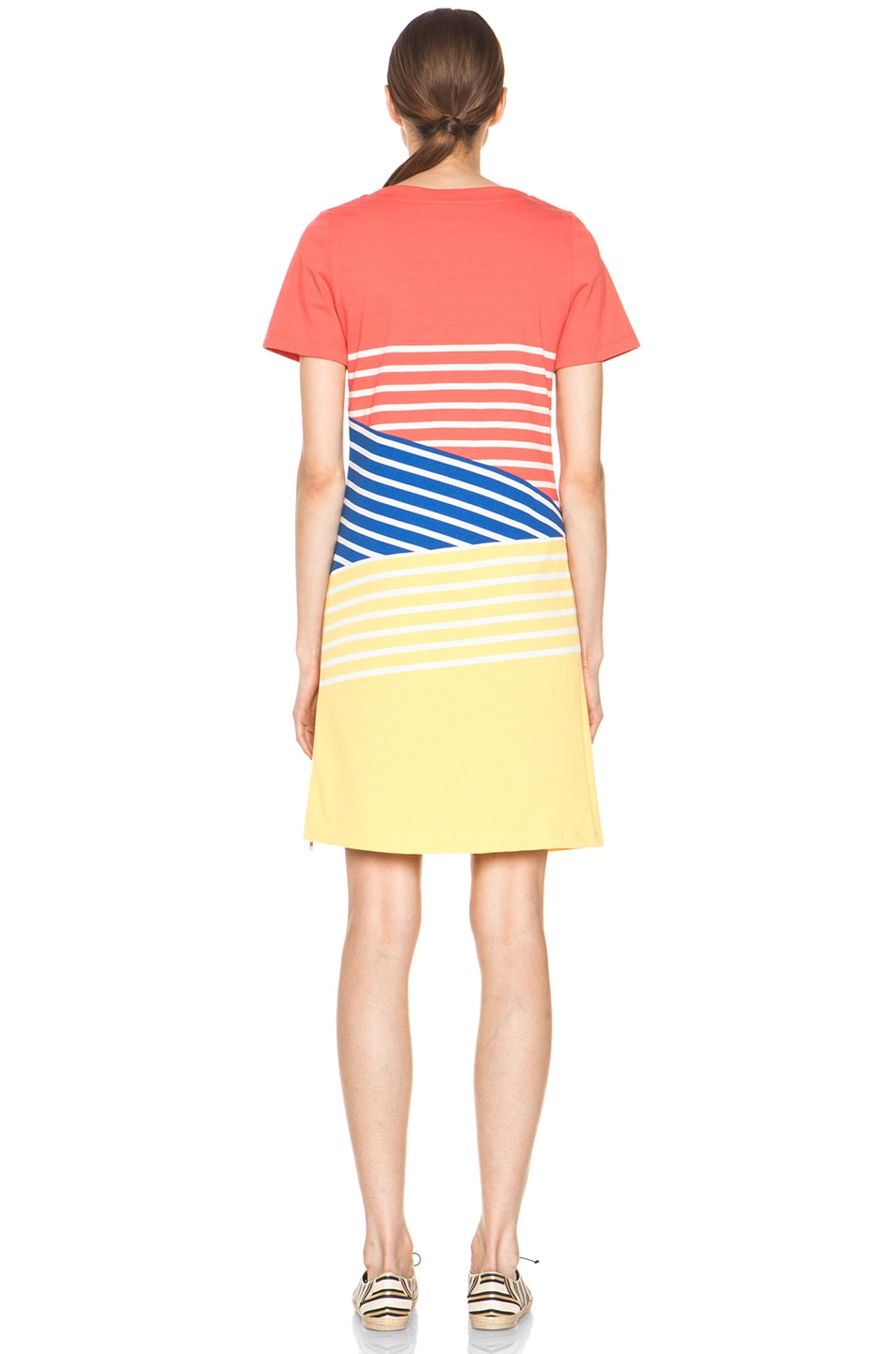 Image 4 of Boy. by Band of Outsiders Breton Dress in Cayenne