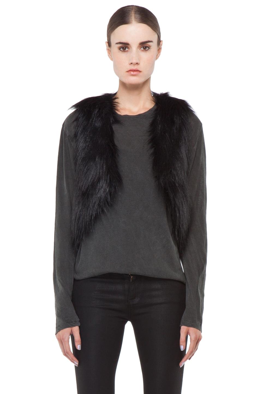 Image 1 of BSABLE Gina Vest in Black Fox