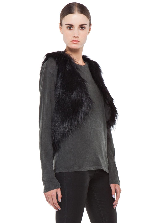 Image 4 of BSABLE Gina Vest in Black Fox