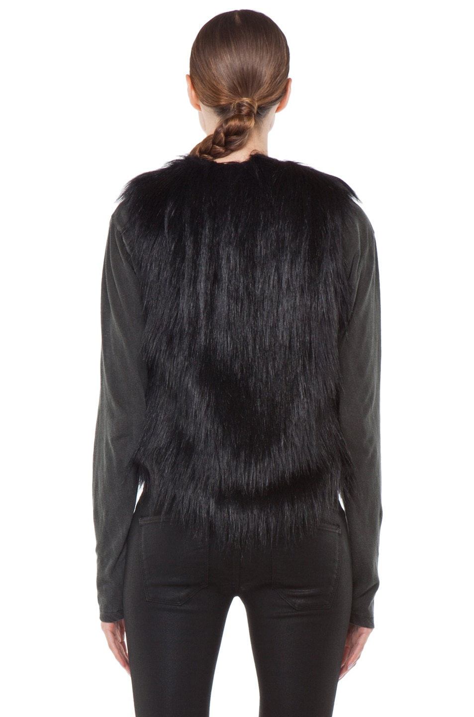 Image 5 of BSABLE Gina Vest in Black Fox
