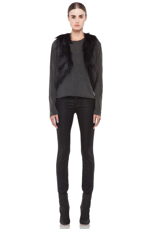 Image 6 of BSABLE Gina Vest in Black Fox