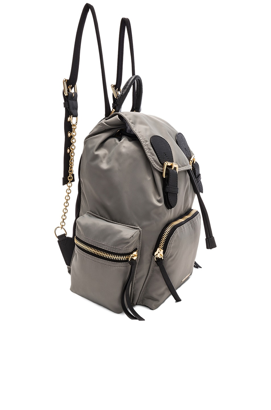 Image 3 of Burberry Medium Rucksack in Thistle Grey