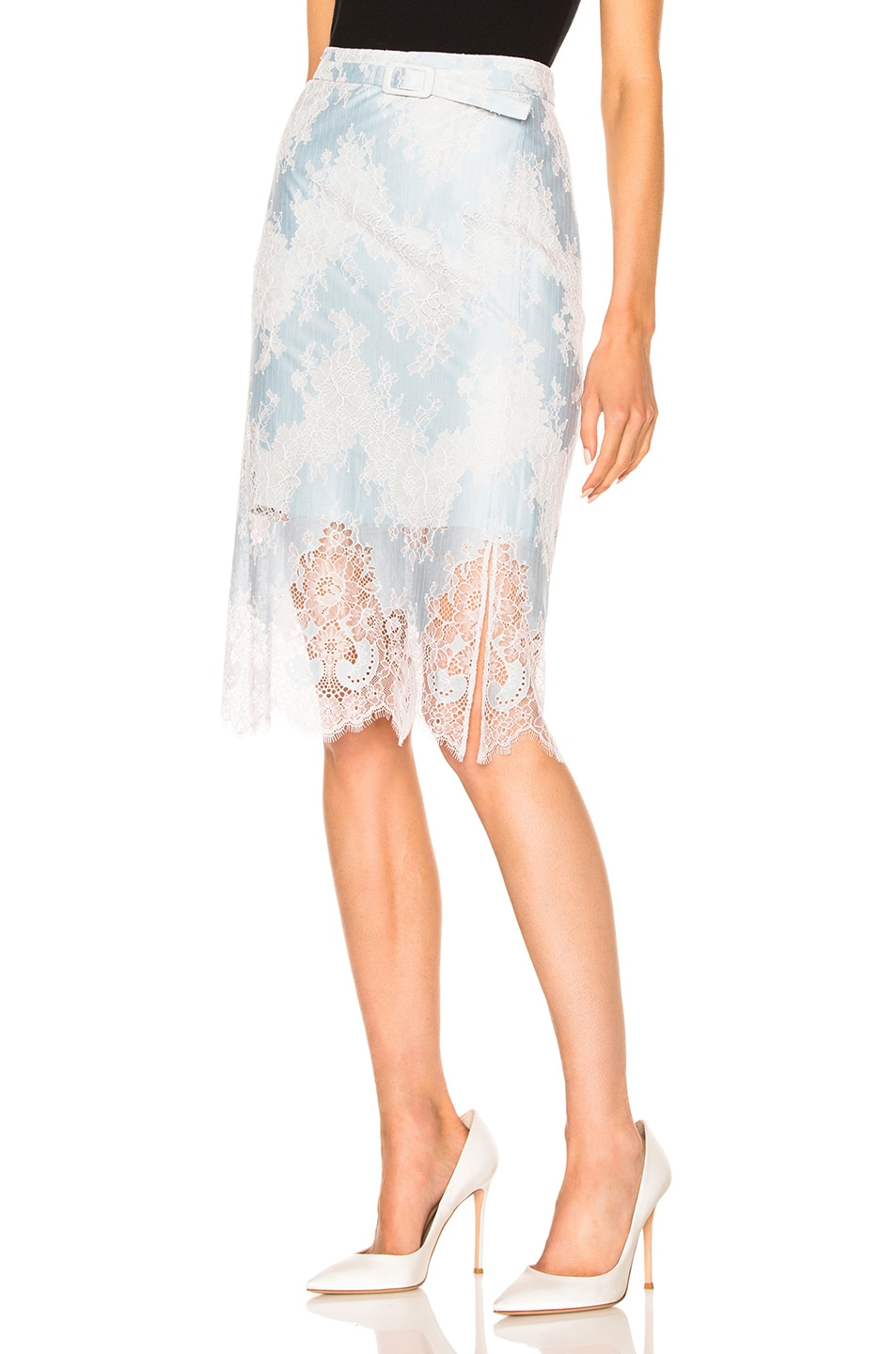 2 stores in stock carven high waisted lace skirt ciel