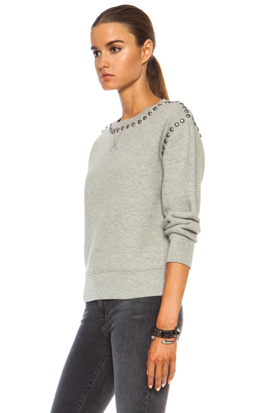 Image 2 of Citizens of Humanity Premium Vintage Camryn Sweatshirt in Studded Heather