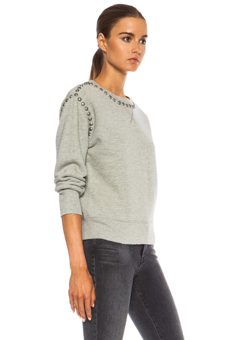 Image 3 of Citizens of Humanity Premium Vintage Camryn Sweatshirt in Studded Heather