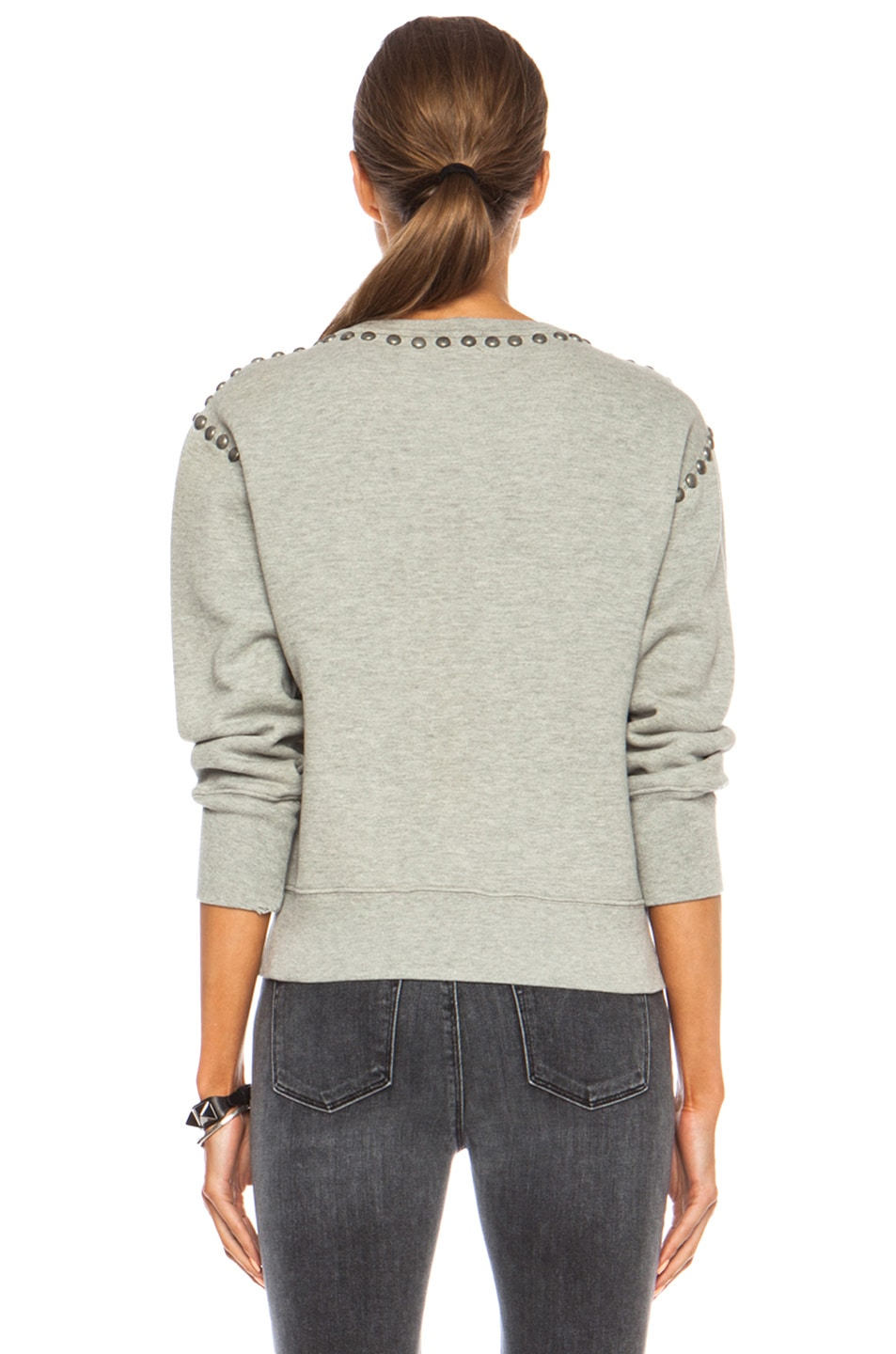 Image 4 of Citizens of Humanity Premium Vintage Camryn Sweatshirt in Studded Heather