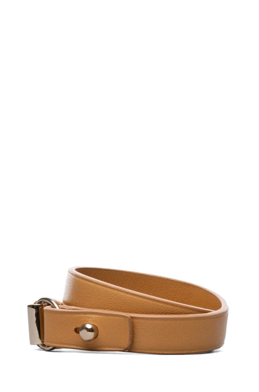 Image 2 of Chloe Lily Double Wrap Bracelet in Ochre