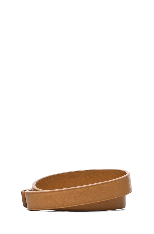 Image 3 of Chloe Lily Double Wrap Bracelet in Ochre