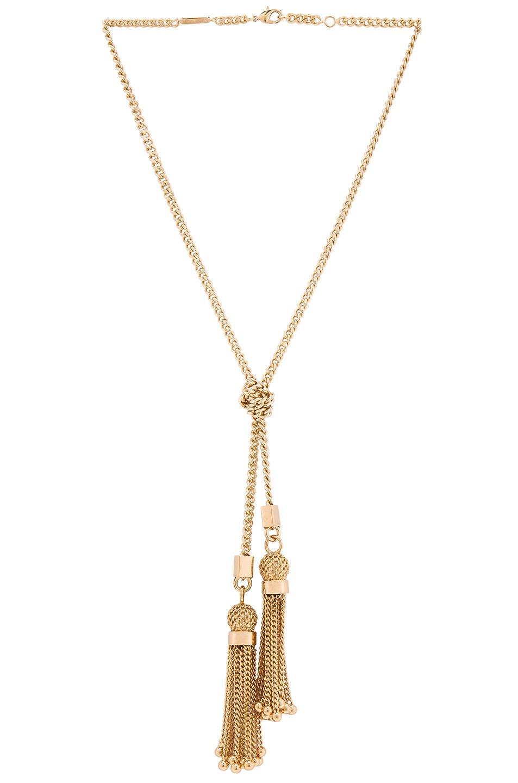 Image 1 of Chloe Lynn Short Necklace in Golden Brass