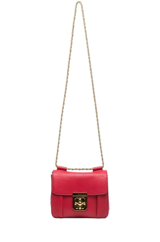 Image 6 of Chloe Small Elsie Shoulder Bag in Berry Cupcake