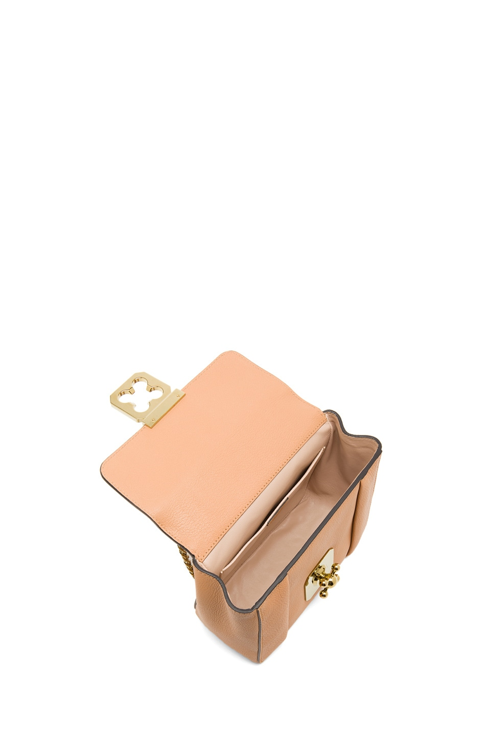 Image 4 of Chloe Small Elsie Shoulder Bag in Rose Milk