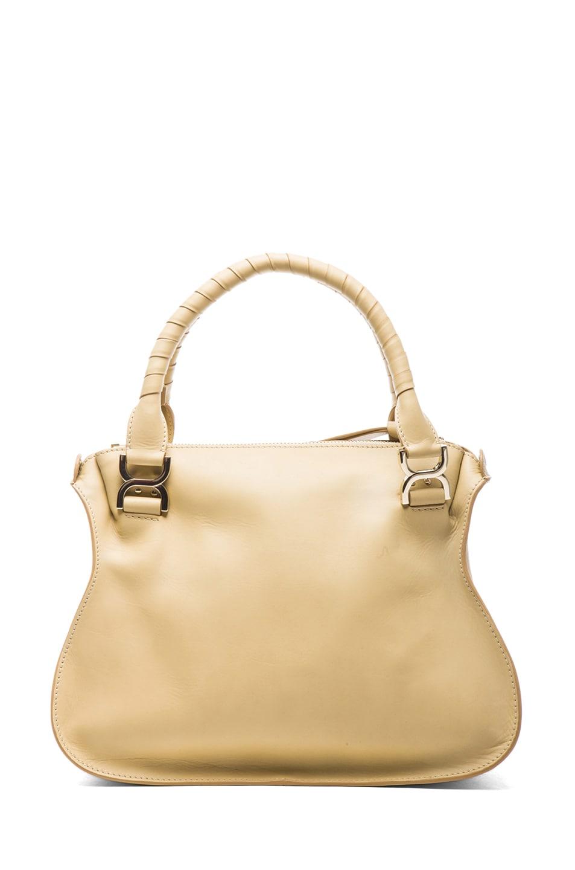 Image 2 of Chloe Medium Marcie Shoulder Bag in Biscotti Beige